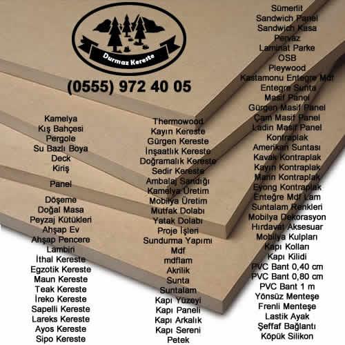Masif Panel Fiyatları Izmir